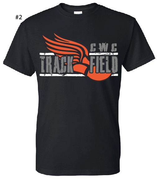 CWC Track and Field Shirt Orders