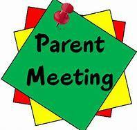 Monthly Parent Meeting
