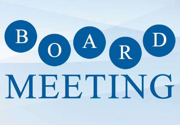 May 3 Special Board Meeting
