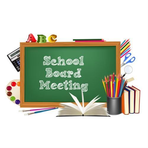 School Board Meeting Change of Date