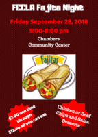 FCCLA Fajita Night
