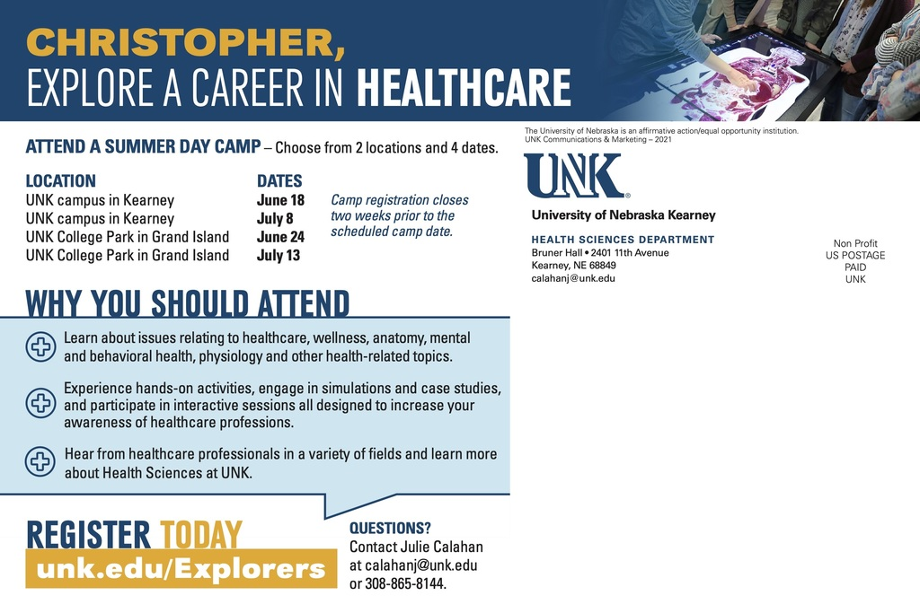 UNK Health Camp