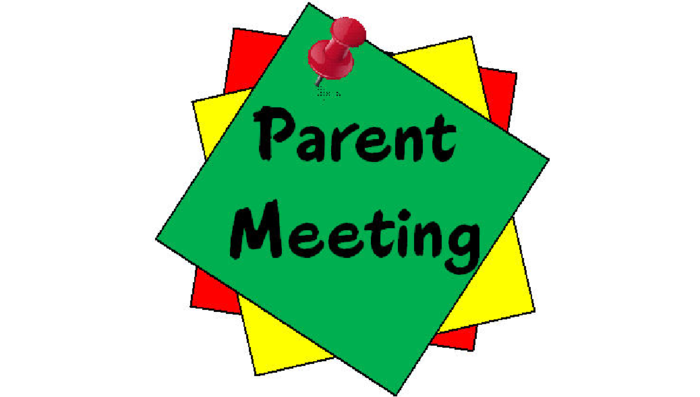 Parent Meeting tonight at 5:30