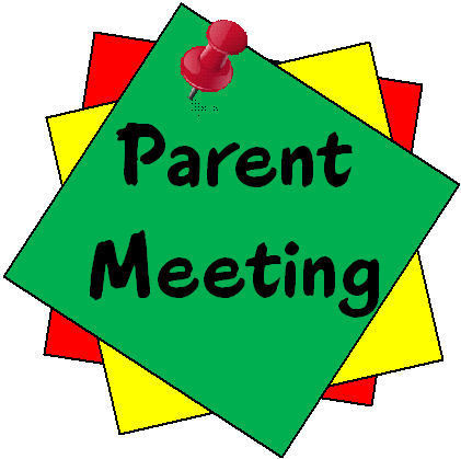 Parent meeting Thursday, Oct 24