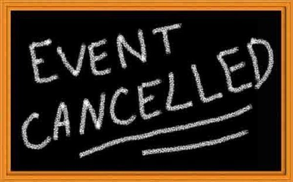 cancelled events